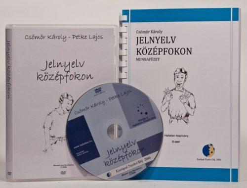 Jelnyelv középfokon DVD